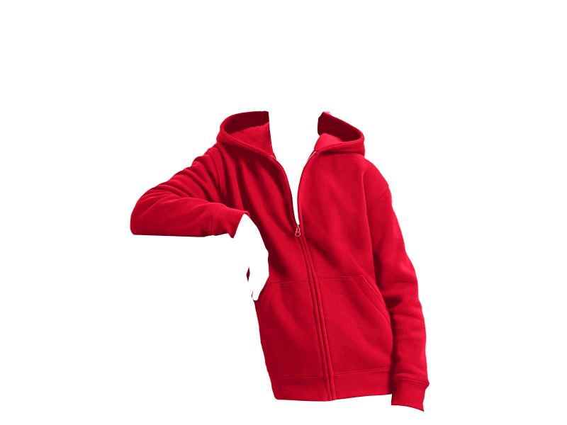 Authentic Zipped Hood Jacket Barn