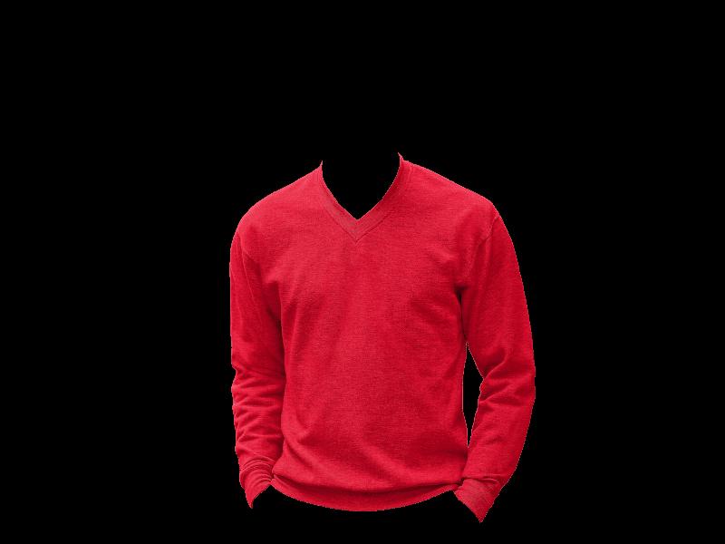 Russel Adults V-Neck Sweatshirt