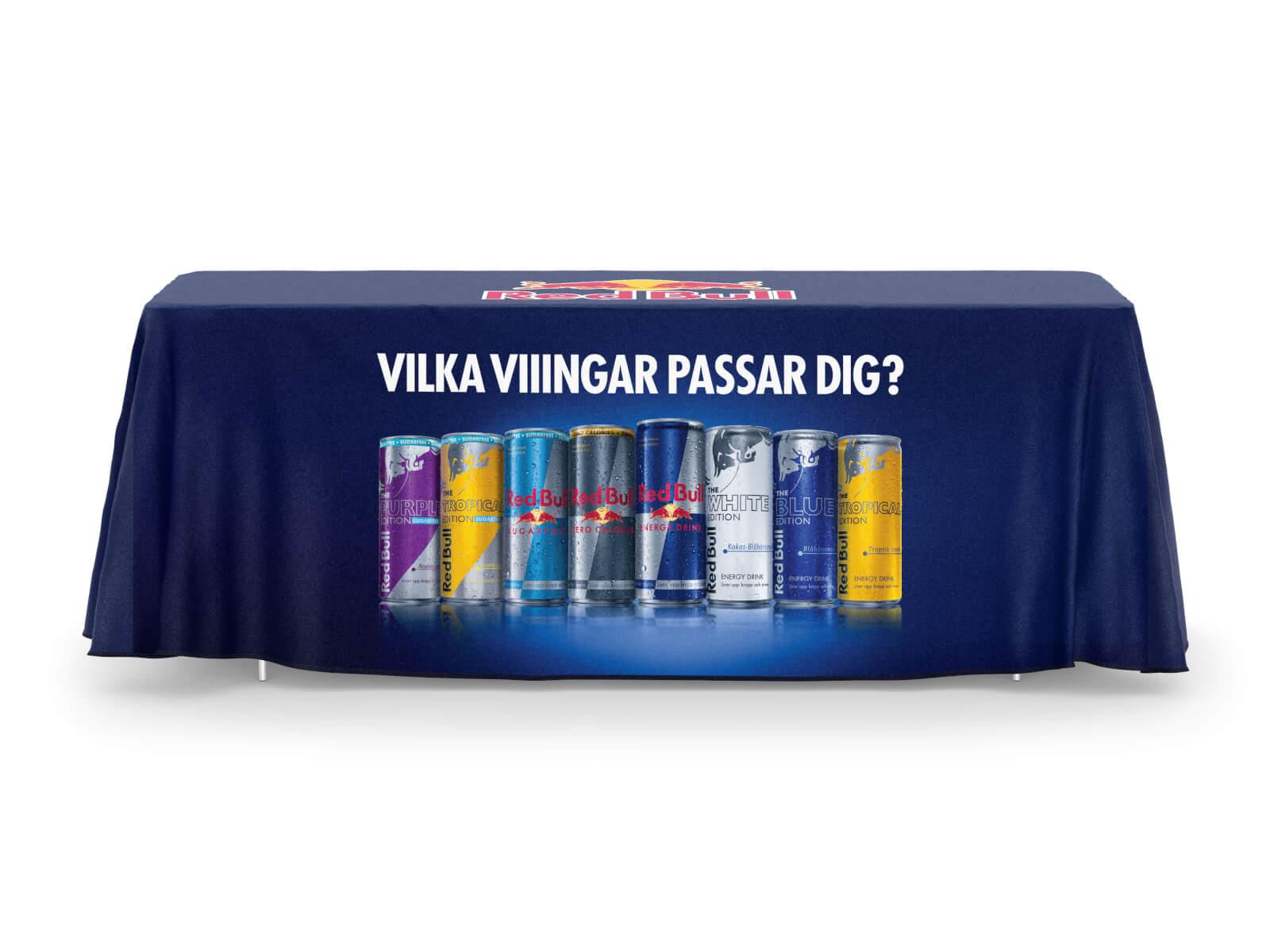 Bordsduk med tryck - Referensbild