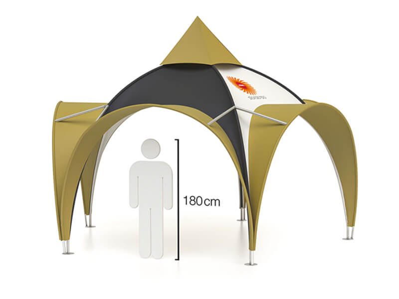 Reklamtält Arch 5 m