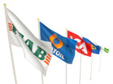 Företagsflagga 300x180 cm