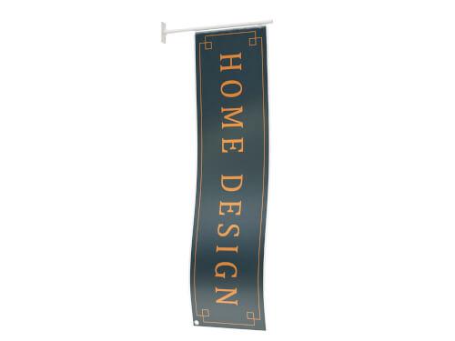 Fasadflagga R-40x150 cm