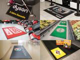 Bildexempel på mattor som Easytryck har producerat