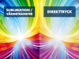Tryckteknik: Sublimation / Värmetransfer