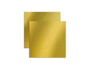 Exklusiva 160x160 mm kuvert i metallicpapper med tryck