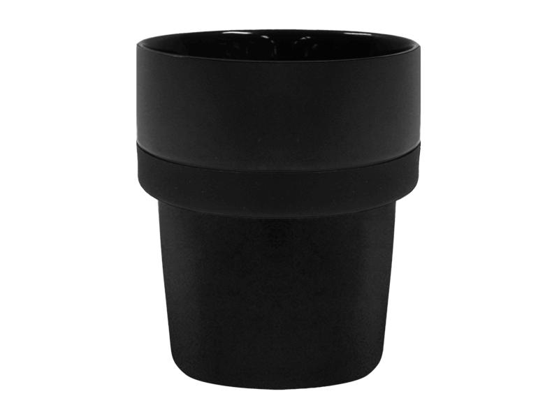Kaffemugg Luna Svart