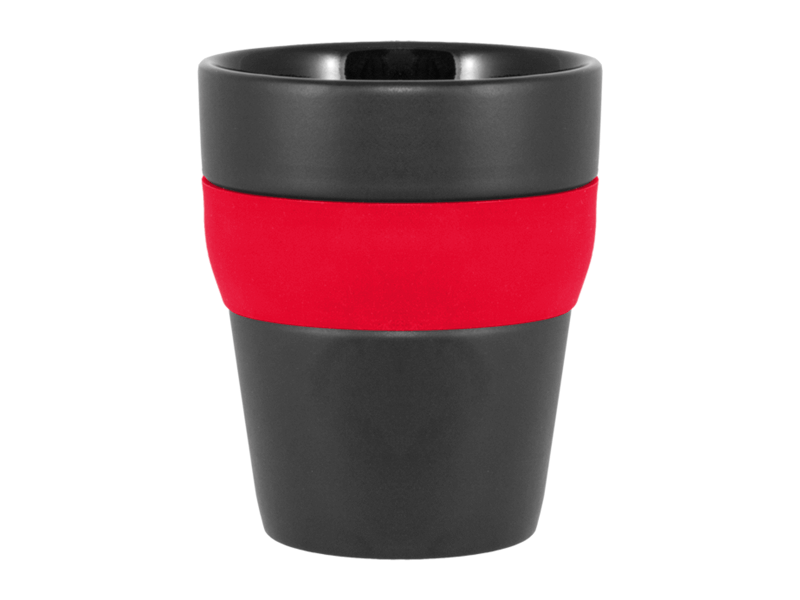 Kaffemugg Molly Svart