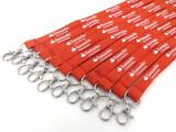 Exempel på Tubvävda Nyckelband 15 mm