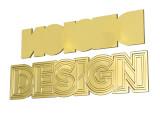 Gjutna pins 3D - konfigurationsbild