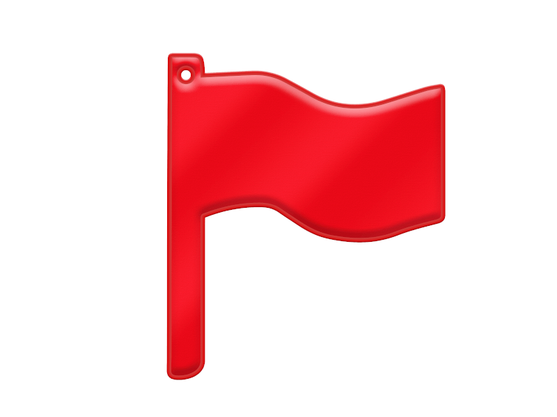 Mjuk Reflex Flagga