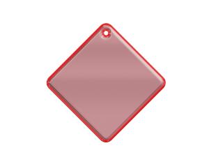 Mjuk Reflex Fyrkant