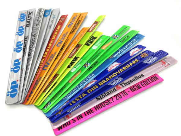 Slapwrap reflexband med tryck