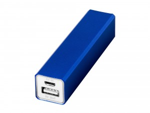 Powerbank med 2200 mAh batterikapacitet