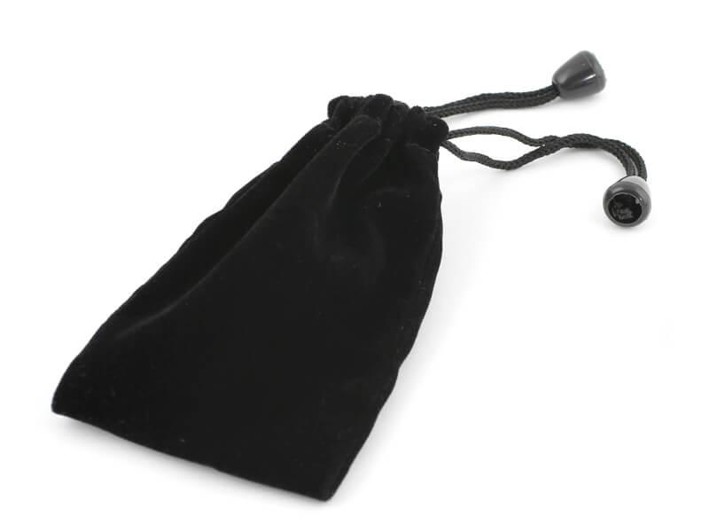 Presentpåse i sammet till USB-minnen